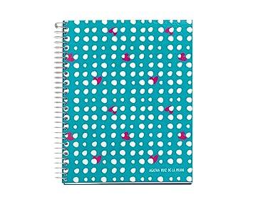 Agatha Ruiz de la Prada Lluvia Lunares - Cuaderno, A4, 120 ...