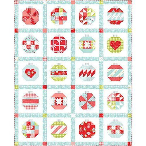 Moda Fabrics Vintage Holiday Bonnie Camille Quilt Kit (Fabric Holidays Quilt Cotton)