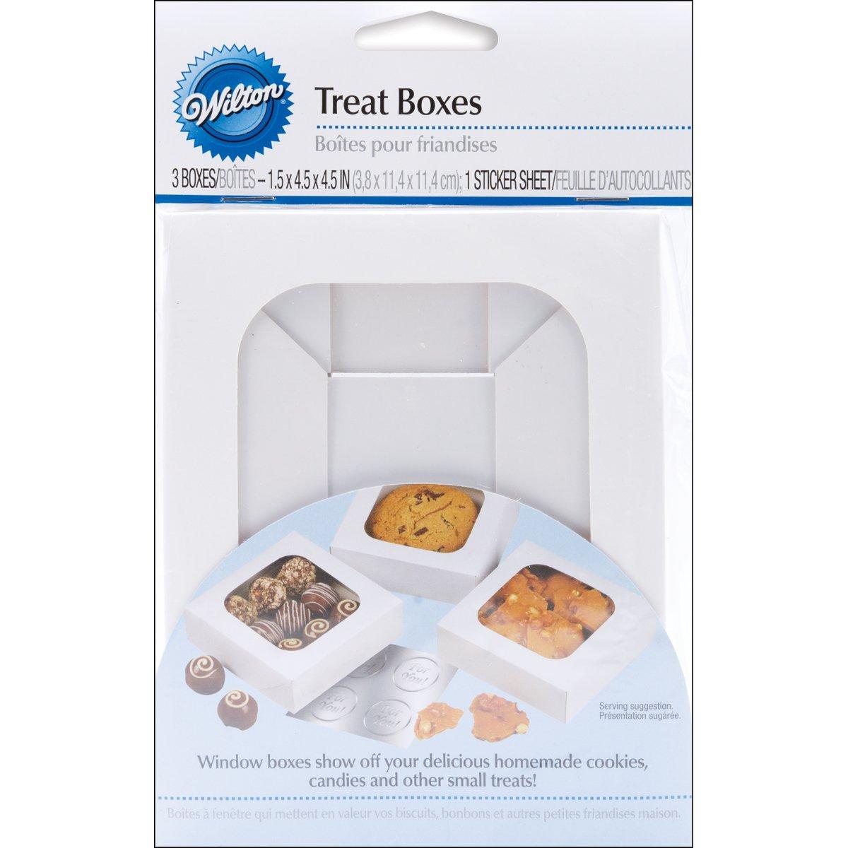 Cupcake Box, White, 12 Cavity, Mini, set of 3 Wilton 415-1696