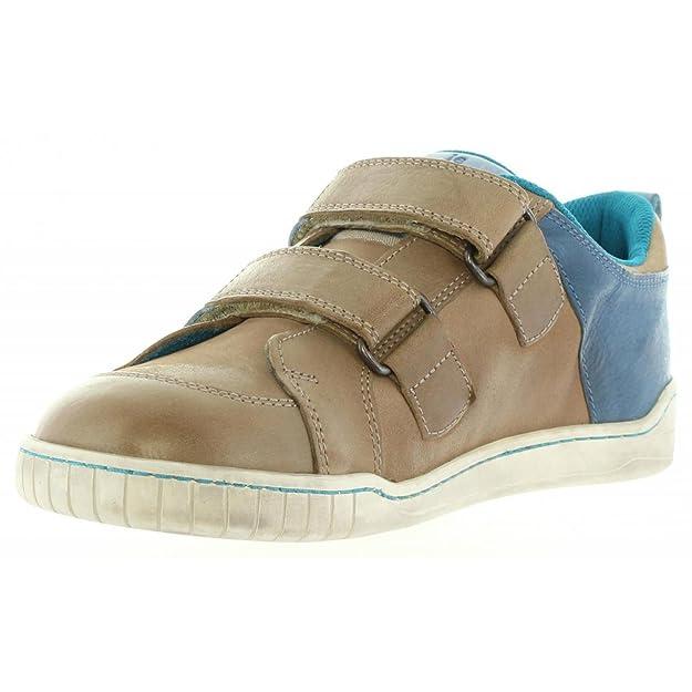 Chaussures pour Garçon et Fille KICKERS 474850-30 WINNER 123 GRIS BLEU 5TDSz82nw