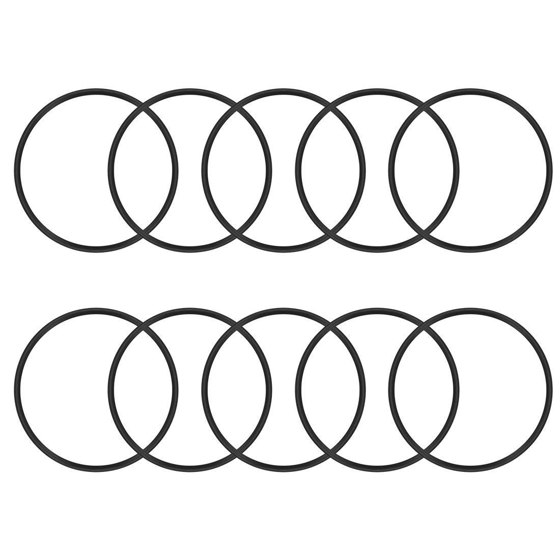 78 mm Au/ßendurchmesser 3,1 mm Breite 71,8 mm Innendurchmesser 10 St/ück Sourcing Map O-Ringe aus Nitrilkautschuk runde Dichtung