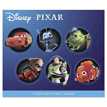 Nintendo Direct January 2020 Calendar Amazon.: 2020 Disney Pixar Year in A Box Calendar (LMB2570020
