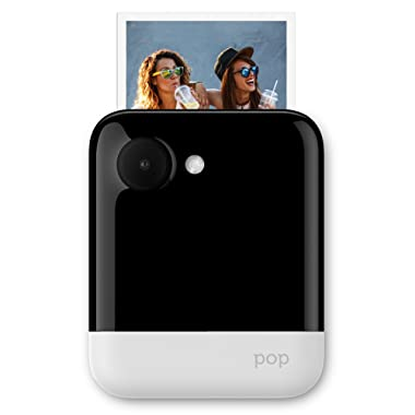 Polaroid POP 3x4 Instant Print Digital Camera with Zink Zero Ink Printing Technology - White (Discontinued)