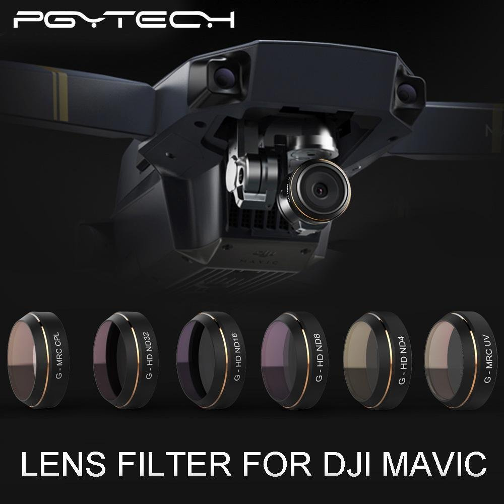 XSD MODEL PGY G-UV ND4 ND8 ND16 ND32 CPL HD Lens Filters Set Gimbal Accessories for for DJI MAVIC Pro Drone Quadcopter parts