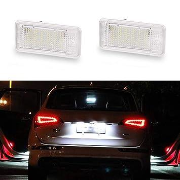 GOFORJUMP 2 Unids 12 V Blanco 18 LED Número Lámpara de la luz de la Placa ...