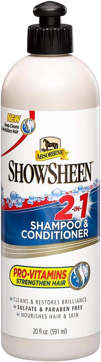 Absorbine 428969 - Champú y acondicionador 2 en 1, 591 ml