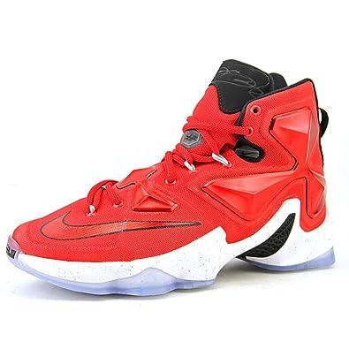 low cost df602 41b72 Nike Men s Lebron XIII Red Basketball Shoe - 11.5 ...