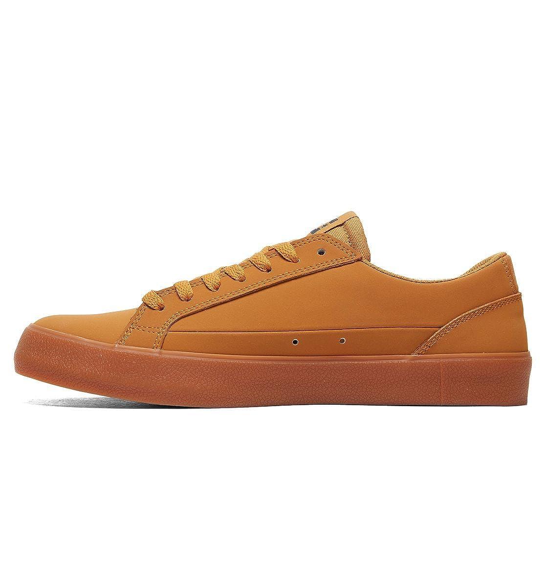 DC Shoes Lynnfield, Chaussures de Skateboard Homme, Marron (Wheat We9), 40 EU