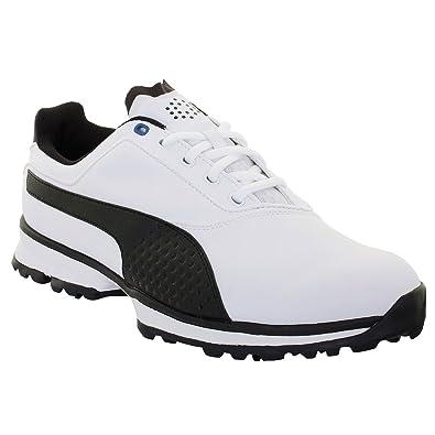 7b609ac1436 Image Unavailable. Image not available for. Color  Puma Golf Men s Titan  Lite Golf Shoes - US 11 - White Black