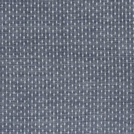 Robert Kaufman House of Denim Chambray Union Dobby Dot Chambray - 57