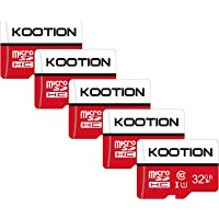 KOOTION 5 X 32GB Micro SD Card Class 10 Micro SDHC Card 32GB TF Card High-Speed Micro SD Cards 5 Pack Memory Card UHS-1…