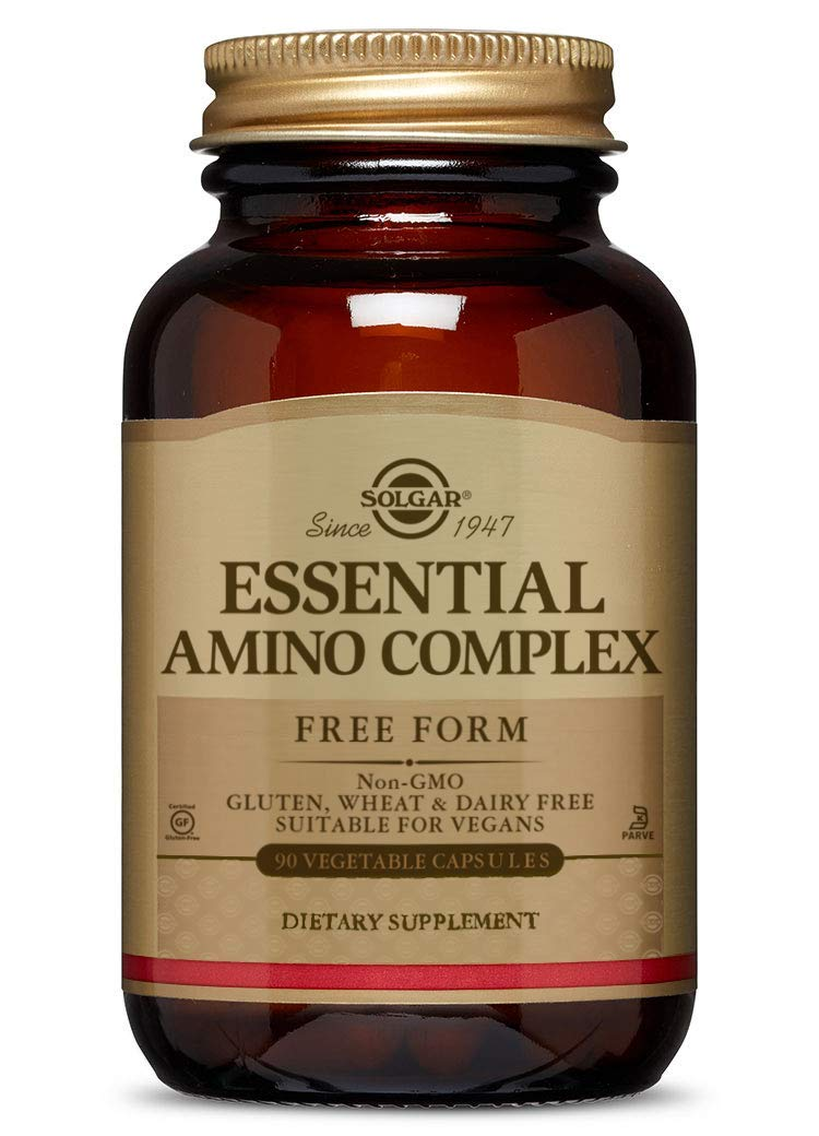 Solgar – Essential Amino Complex, 90 Vegetable Capsules