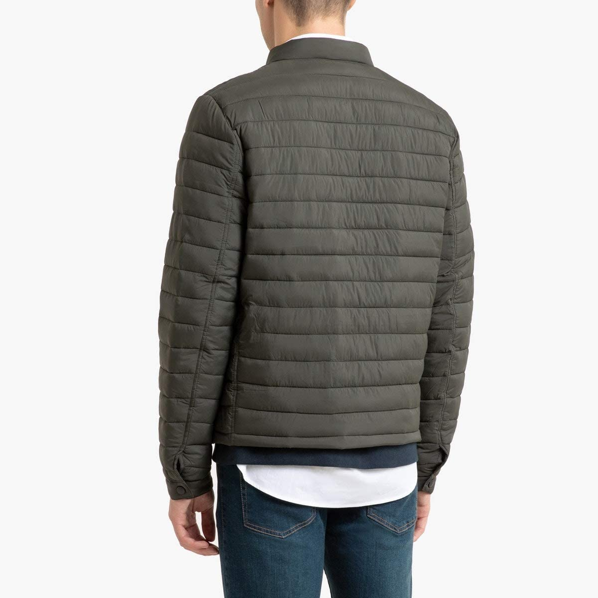 La Redoute Collection Lightweight Water-Repellent Padded Jacket Green Size L