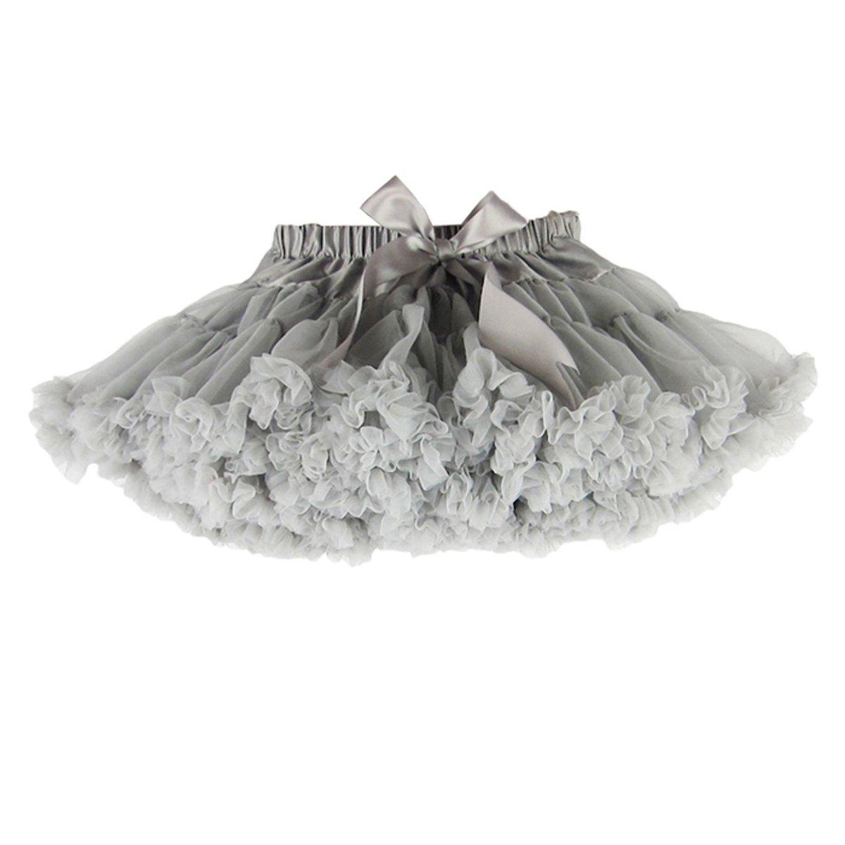 wexcen Baby Girls Tutu Skirt Princess Ballet Dance Pettiskirt Fluffy Tulle Pleated Dress 1-10T