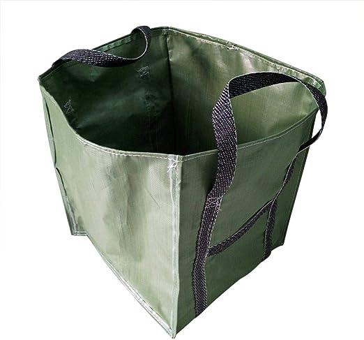 Ntribut Grandes Bolsas De Basura De Jardín Sacos De Basura Impermeables con Asas Bolsa De Hierba