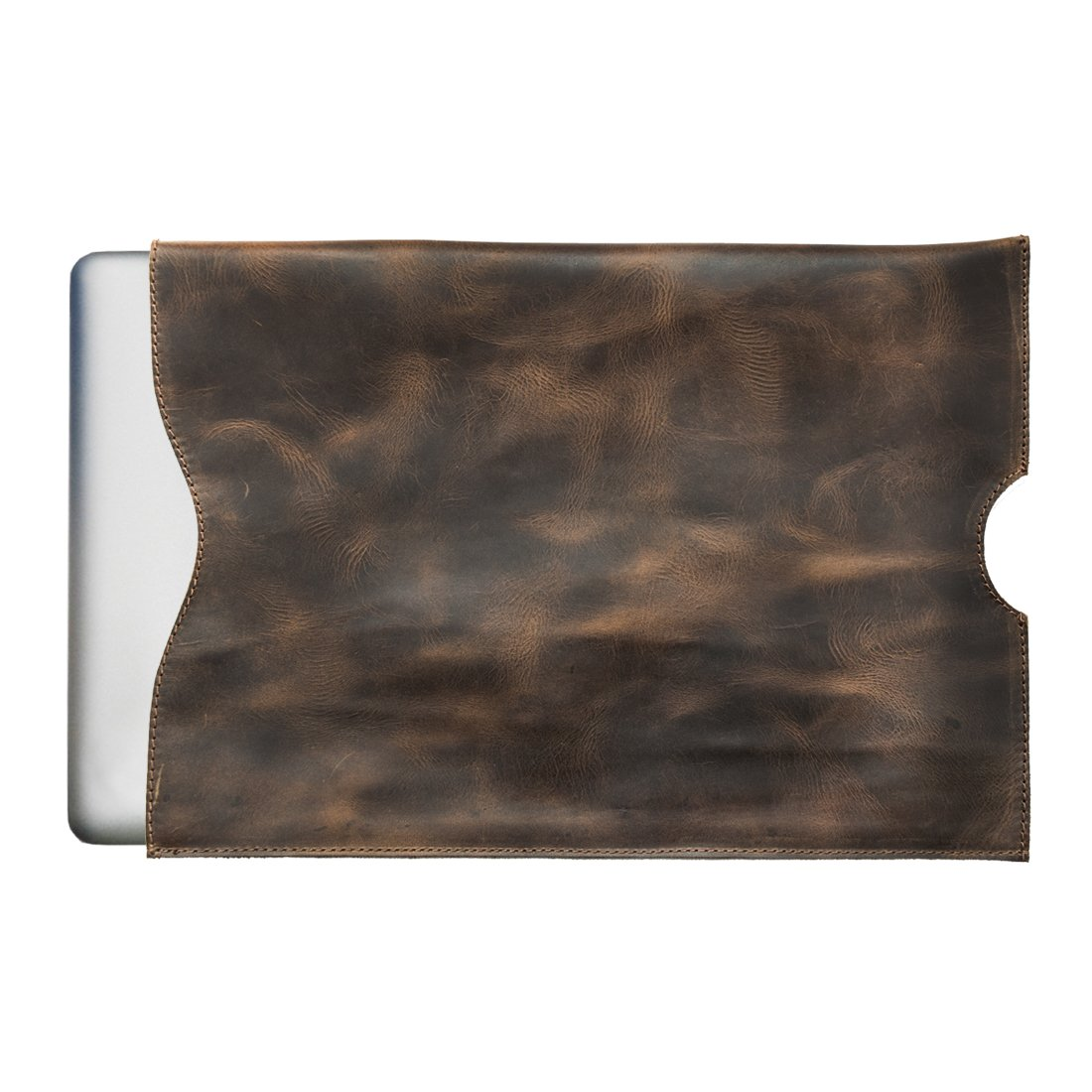 【公式】 Rustic Macbook Leather Macbook Sleeve (15