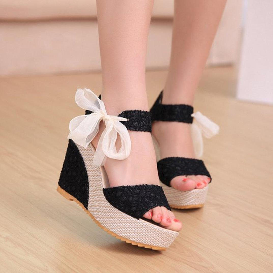 7454a8749a2fe Amazon.com  Inverlee Women Fashion Summer Slope with Flip Flops Sandals  Loafers Shoes  Clothing