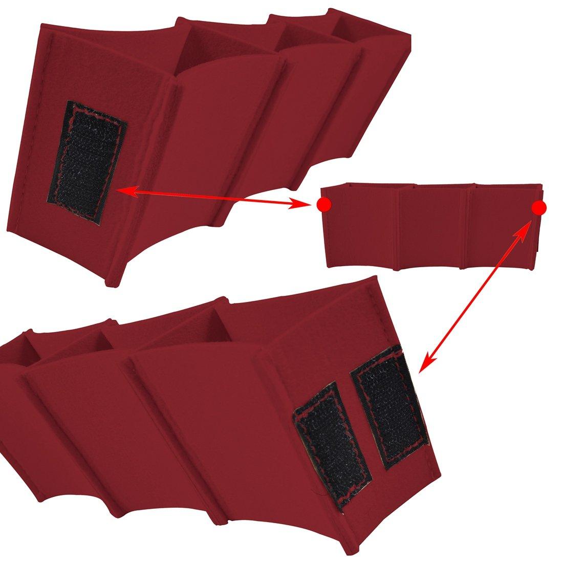 Xianheng Felt Insert Bag Organizer Multi-Pocket for Handbag Purse Tote Grey M ZB0807-3-2M//XHCA