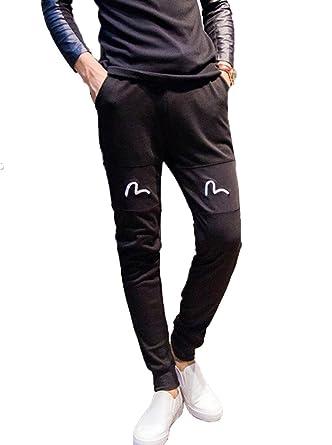 Minetom Sarouel pour homme style jogging baggy Sport Jogging Pants (FR 36  (Taille 70 c274ecc0107