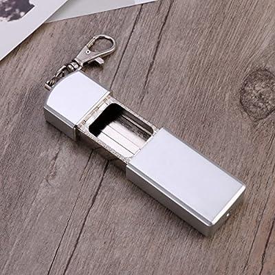 argent argent WINOMO Cendrier avec porte-clés cendrier froid avec porte-clés cendrier froid avec porte-clés