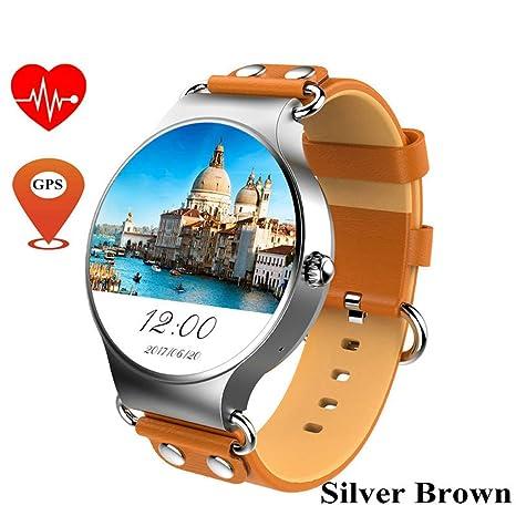 JingJingQi Rastreador de Ejercicios KW98 Smart Watch Android ...