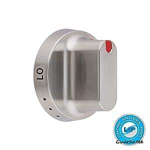 Ultra Durable DG64-00347B Dial Knob for Samsung Range Oven - DG64-00472B