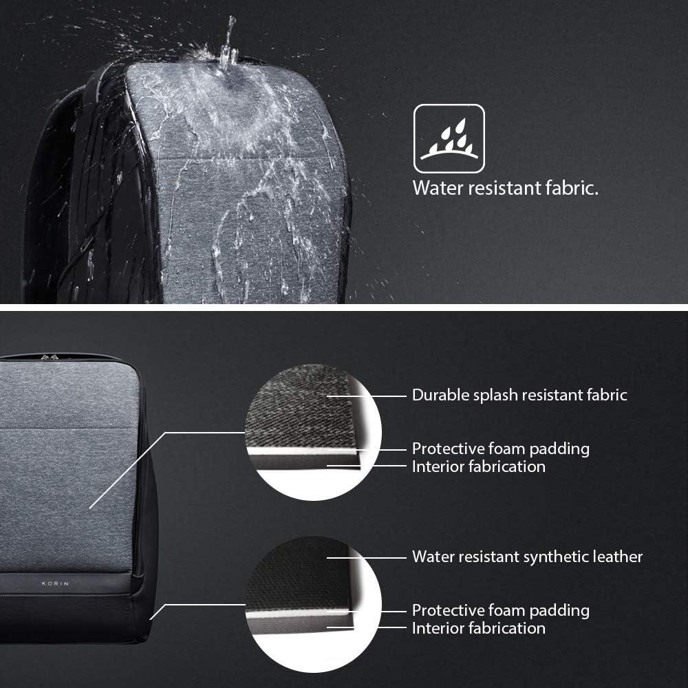 Korine FlexPack Go Multifonctionnel Flexibilit/é Antivol Duffle