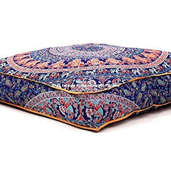 red large a cushions floor turkish cover cushion ottoman pillow