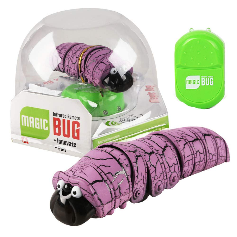 【オープニングセール】 AMOFINY 赤ちゃんのおもちゃ 赤外線センサー リモートコントロール 動物 B07N68FJLY 毛虫 おもちゃ AMOFINY--20259 面白いリモコン 虫 Purple 毛虫 プラスチック 赤外線 RCおもちゃ ジョーク いたずら Purple AMOFINY--20259 B07N68FJLY Purple, CRAFT NAVI:2dd929a9 --- arianechie.dominiotemporario.com
