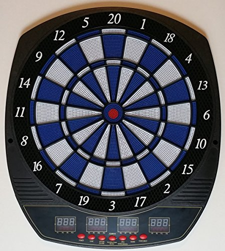 PERFORMANZ PRO Series LCD Display Electronic Dart Dartboard Set w/ 6 Soft Tip Darts