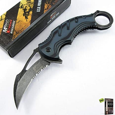 Amazon.com: SPRING-ASSIST - Cuchillo de kNIFE plegable ...