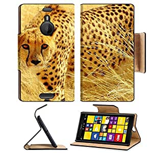 Animals Cheetahs Predators Wild Winter Nokia Lumia Flip Case Stand Magnetic Cover Open Ports Customized Made to Order Support Ready Premium Deluxe Pu Leather MSD cover Professional Cases Accessories Graphic Background Covers Designed Model Folio Sleeve HD