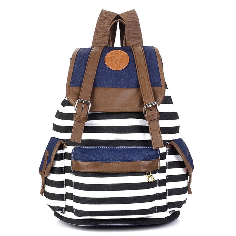 eforstore new uni canvas backpack school bag