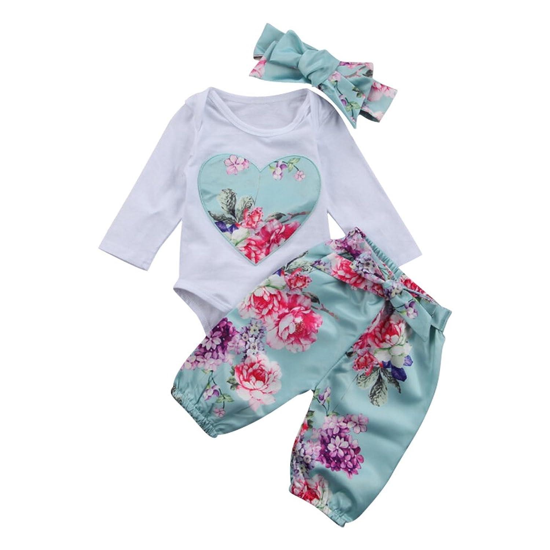 12f5f5dbf484 Amazon.com  Newborn Thanksgiving Outfit Infant Cotton Bodysuit ...