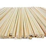 Bâtons en bois pour barbe à papa 50 pièces