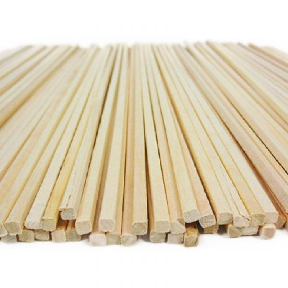 Buby Party - 2200 Bastoncini Per Zucchero Filato In Legno