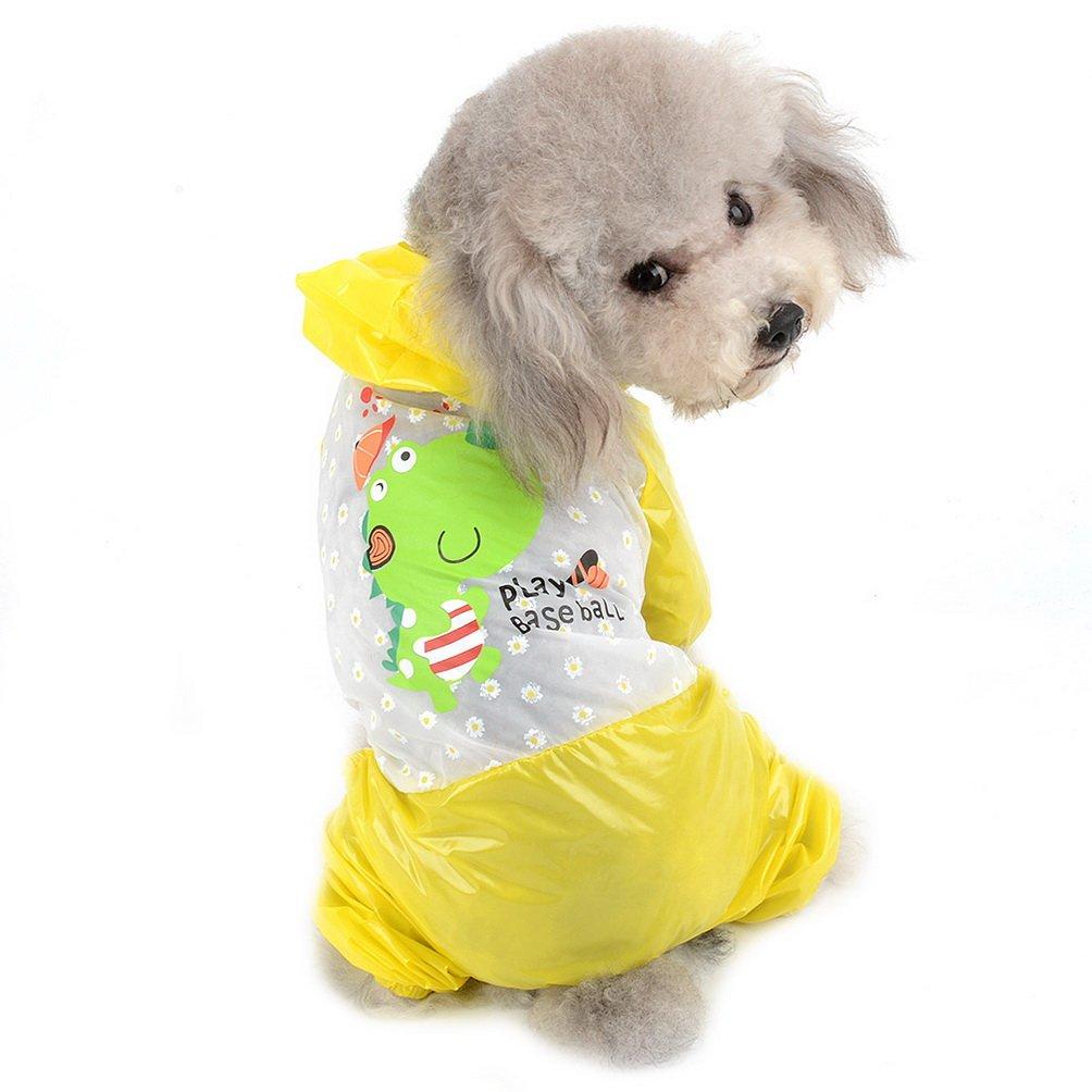 SELMAI Chubasquero Impermeable para Perros Pequeños y Resistentes al Sol con Capucha: Amazon.es: Productos para mascotas