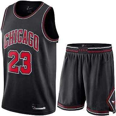 RIITY Conjunto de Pantalones Cortos Bulls # 23 Jordans para Hombre, Camiseta de Baloncesto, Camiseta de Baloncesto para niños y niñas, Camisa de Deporte Retro de Malla de poliéster.: Amazon.es: Ropa y