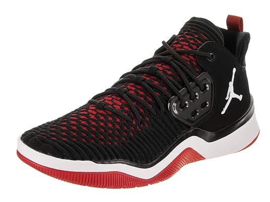 Jordan Uomo Nike Dna LX Scarpa da Basket 14 US NeroBianco