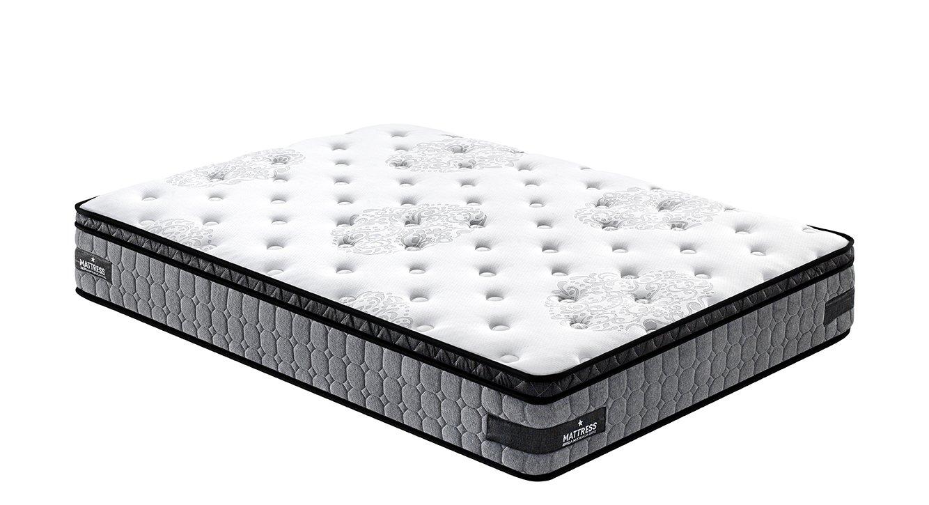 Hybrid Mattress 12 Quot Everest Pillow Top Queen 733556403819
