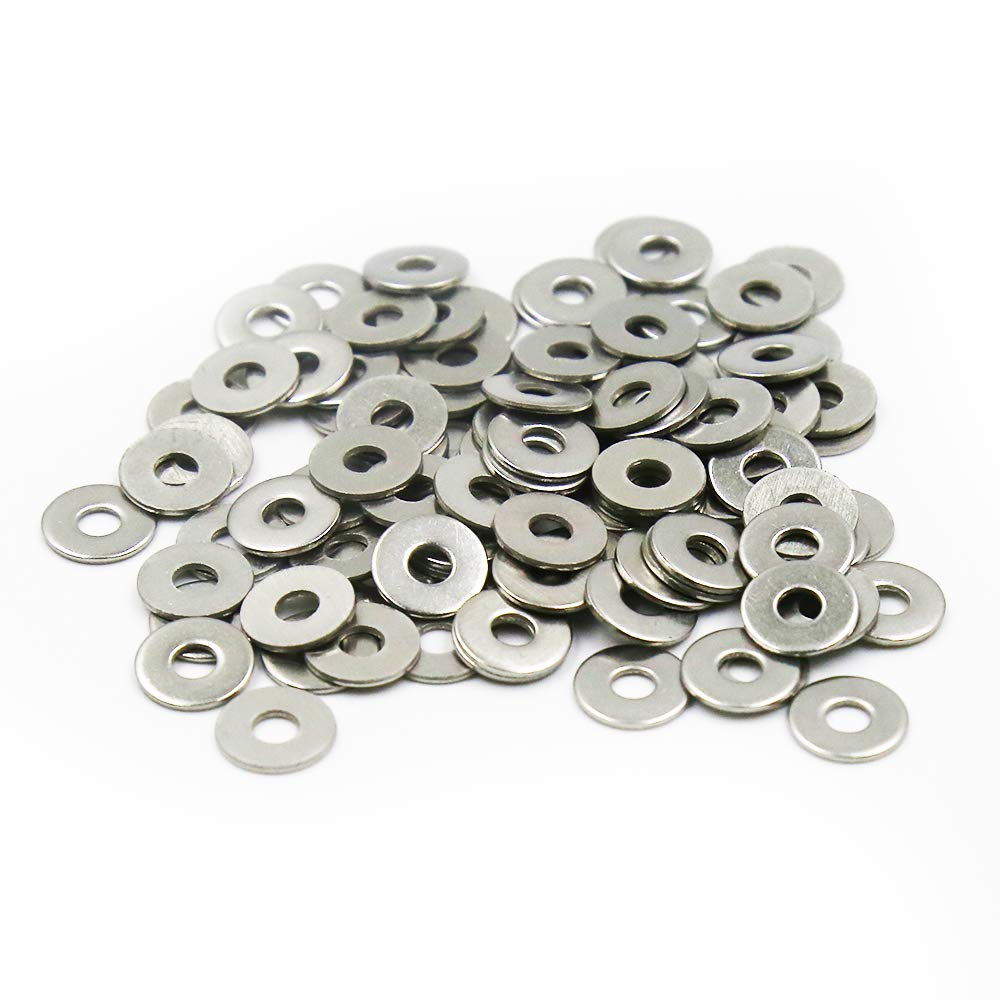 Pack of 100 Uxcell a15112300ux0387 2mmx4mmx0.5mm Fiber Motherboard Insulating Washers Spacer Red