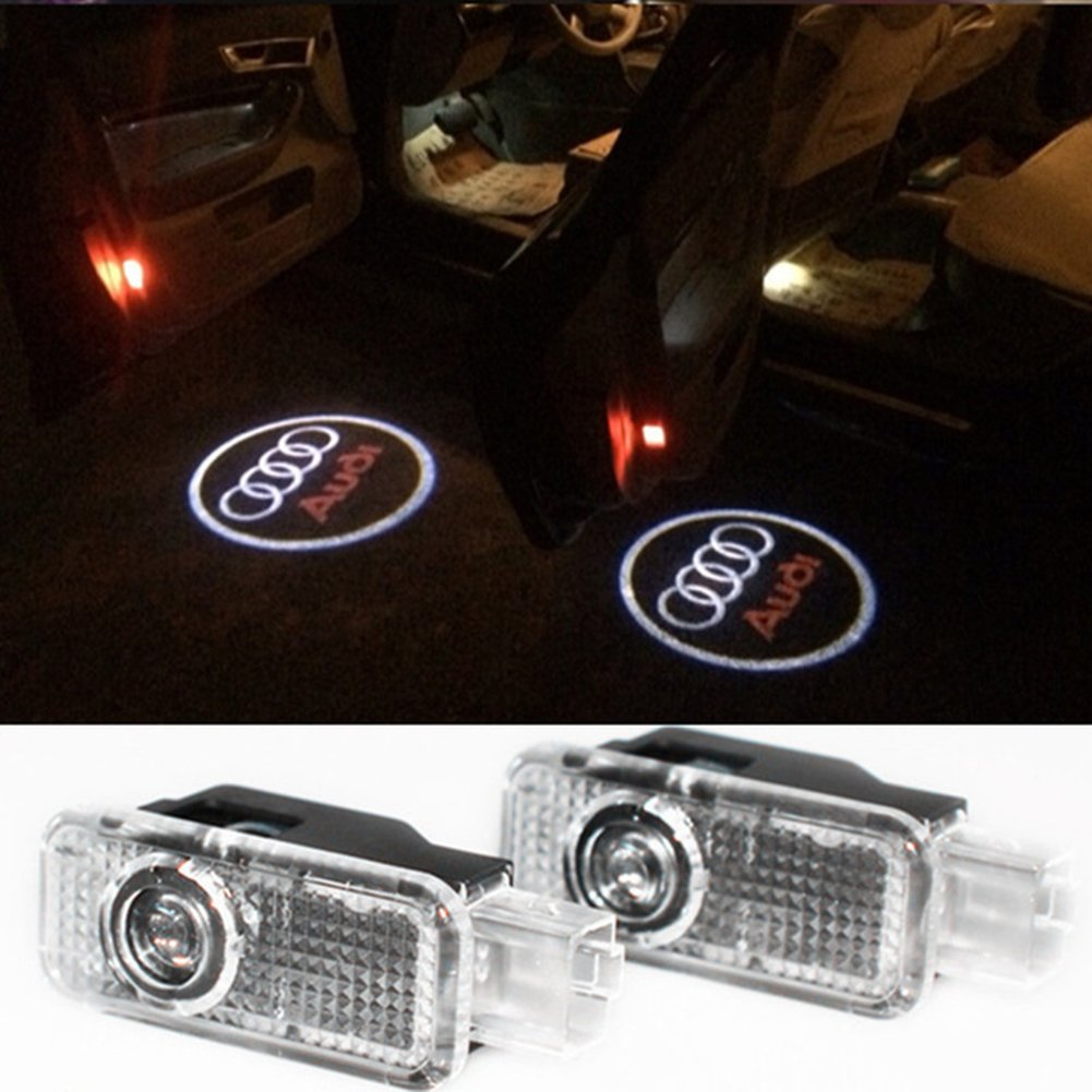 Inlink 2 X Wireless LED SMD Einstiegsbeleuchtung Projektor Logo