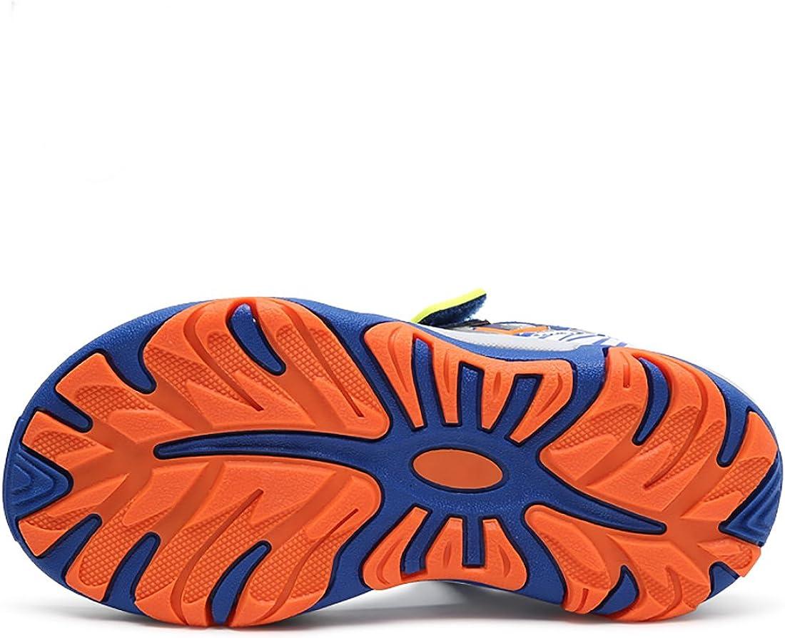 Big Kid 4M, Blue Little//Big Kids VITIKE Boys Sandals Little Kids Water Sandals for Summer