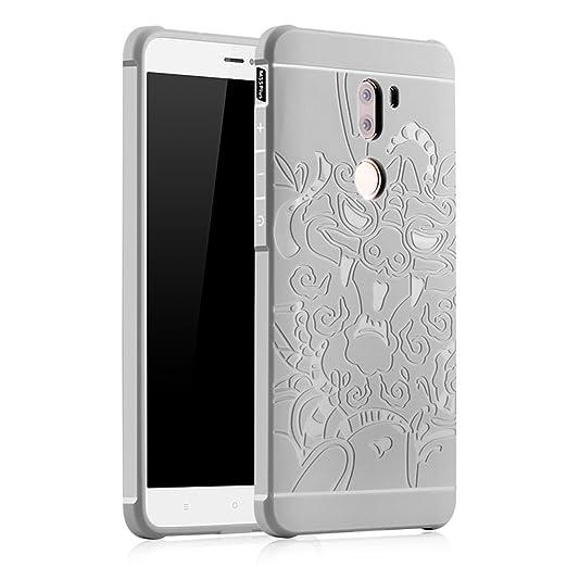 2 opinioni per OFU® TPU silicone Case opaca per Xiaomi Mi5S Plus Custodie e cover-grigio grigio