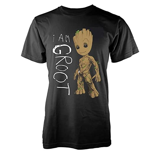 Guardians of the Galaxy 2 I Am Groot Official Tee T-Shirt Mens Unisex ( 7f3407599