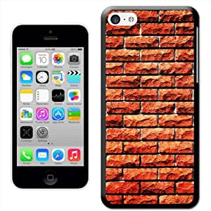 Fancy A Snuggle ' de pared de ladrillos' carcasa rígida para Apple iPhone 5C