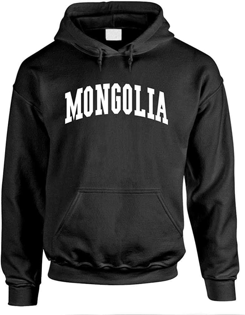 Mens Pullover Hoodie Country Pride Homeland Nation The Goozler Mongolia