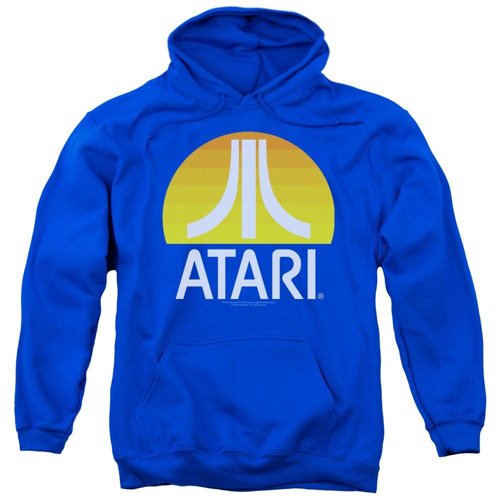 Bleu Marine petit Atari - Sweat-shirt à capuche - Homme