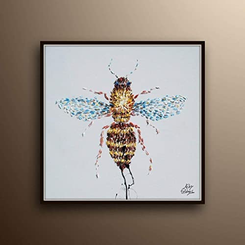 The Painted Hive Abstract Art