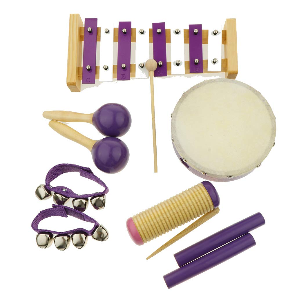 Flameer 11pcs Musical Instruments Toy Set for Toddler, Preschool and Children, 8 Kinds by Flameer (Image #10)
